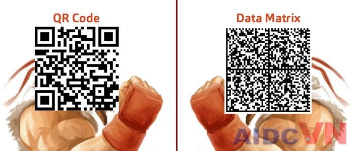 Phân biệt mã QR code và Data matrix