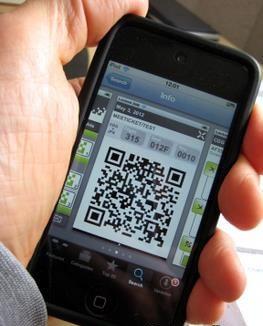 QR code được ứng dụng vào ngành hàng không