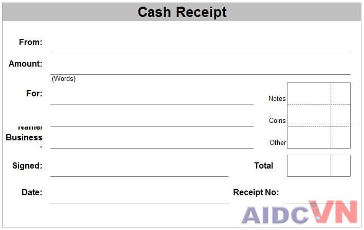 Form giấy in hóa đơn bán hàng thường dùng
