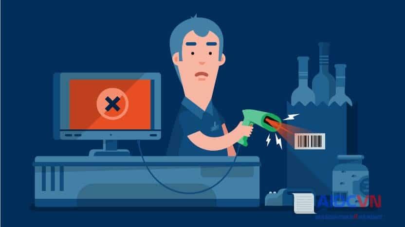 Bảy lý do mã vạch bị lỗi