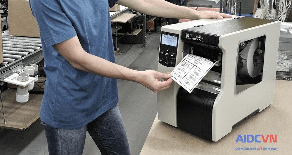 Máy in tem nhãn mã vạch chính hãng giá rẻ năm 2019