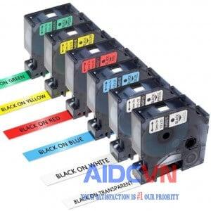 Dymo LabelManager 420P in trên băng nhãn có sẵn