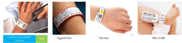 Ứng dụng của vòng đeo tay y tế in mã vạch