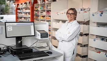 Máy in nhãn được ứng dụng trong y tế